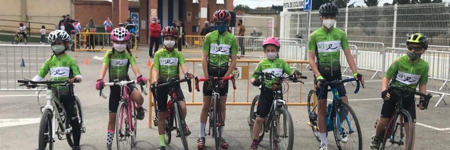 Ansiado regreso a las competiciones de la escuela ciclista Vive Inmuebles