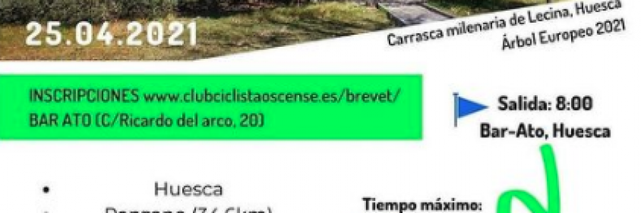 Próxima Brevet 200: Parque Natural de Guara
