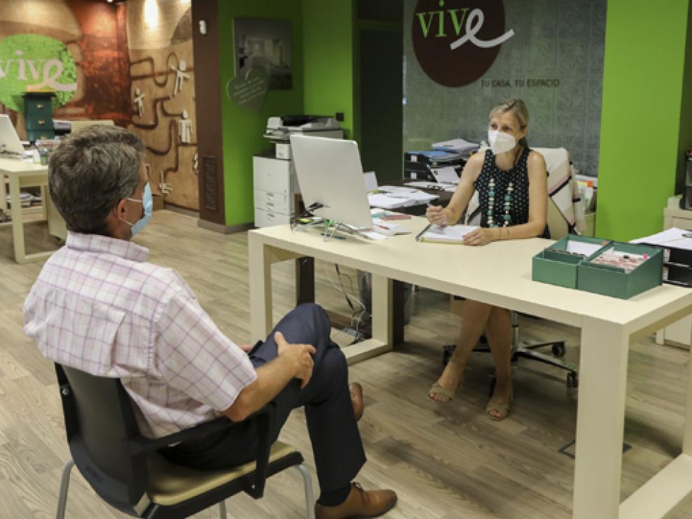 Los pisos de alquiler en Huesca se llenan ante el regreso de las clases